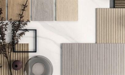 Рельефный керамогарнит для стен с фактурой дерева