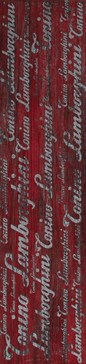 TL22MC01D MONTECARLO Decoro D Rosso 22,5x90