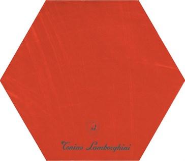 TL20ID1F INDY Decoro Firma Red Esagono lato 20 (40x34,6)