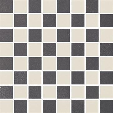 MOR12 Mosaico Coal-Moon 30x30
