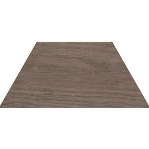 120283 60 Grad Trapezium Wood Dark 10x23