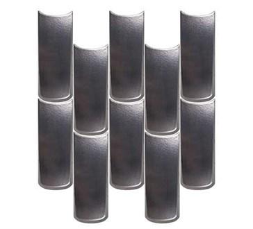 118223 Boho Tear Steel 10x25