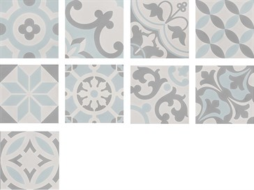 107947 Cement Tradition Decor Mix Warm 18,5x18,5