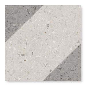 108802 Drops Natural Bit Decor Grey 18,5x18,5