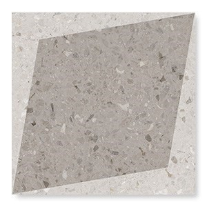 108806 Drops Natural Rhombus Decor Taupe 18,5x18,5