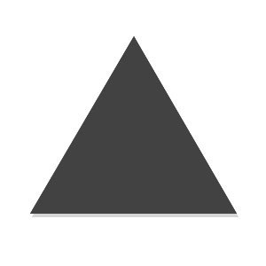 114039 Triangle Floor R9 Graphite Matt 20x23