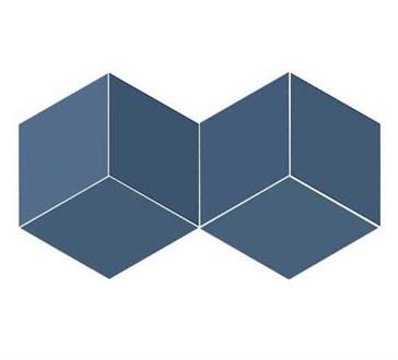 117353 Flow Diamond Blue 14x24