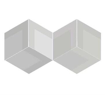 117359 Flow Diamond Decor Taupe 14x24