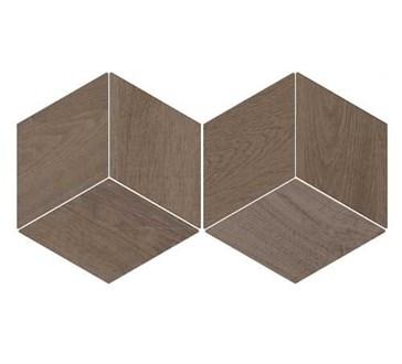 118702 Flow Diamond Wood Dark 14x24