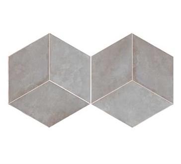 117395 Mud Diamond Grey 14x24