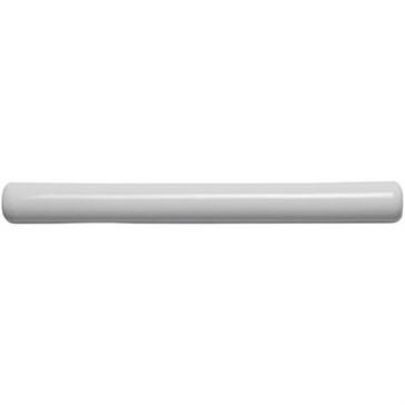 W.PW1012 Молдинг Semi Round Pencil Pure White 1,3x12,7