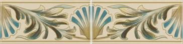 6991B Shell Frieze 2 tiles set 15,2x7,6