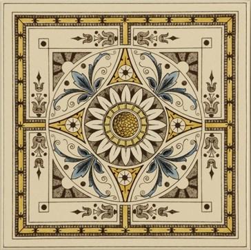 6019B Symmetrical Classical Pattern 15,2x15,2