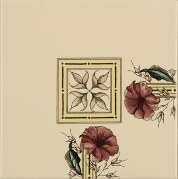 6030B Plant&Urn corner tile 15,2x15,2