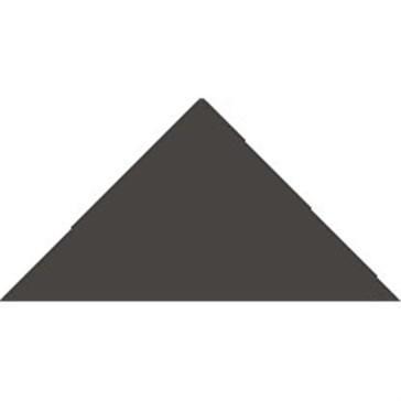 6312V Плитка треугольная BlackTriangle 5x3,6x3,6