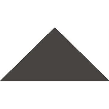 6314V Плитка треугольная Black Triangle 10,4x7,3x7,3