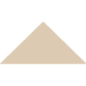 6414V Плитка треугольная White Triangle 10,4x7,3x7,3