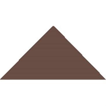 6512V Плитка треугольная BrownTriangle 5x3,6x3,6