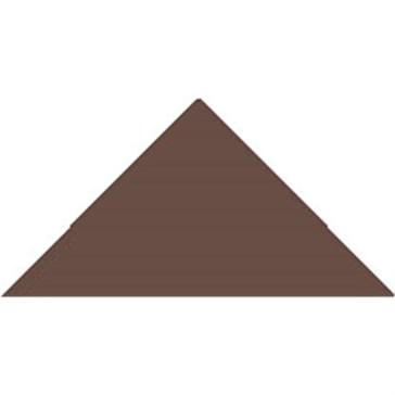 6513V Плитка треугольная Brown Triangle 7,3x5,2x5,2