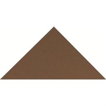 6514V Плитка треугольная Brown Triangle 10,4x7,3x7,3