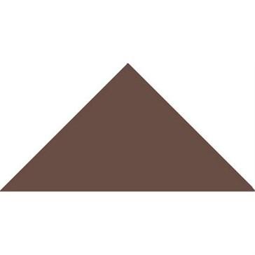 6516V Плитка треугольная Brown Triangle 14,9x10,6