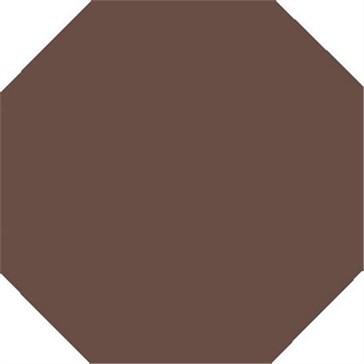6531V Плитка восьмиугольная Brown Octagon 15,1x15,1