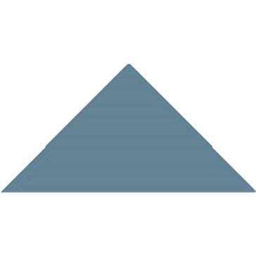 6613V Плитка треугольная Blue Triangle 7,3x5,2x5,2