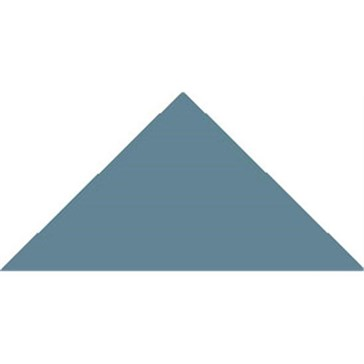 6614V Плитка треугольная Blue Triangle 10,4x7,3x7,3