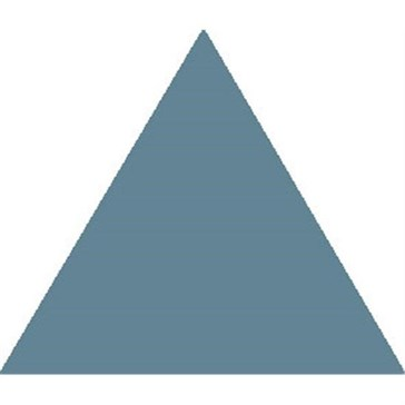 6618V Плитка треугольная Blue Equilateral Triangle 11,6x10,4x10,4