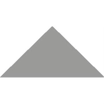 6814V Плитка треугольная Grey Triangle 10,4x7,3x7,3