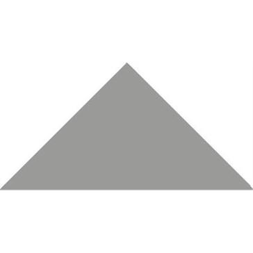 6816V Плитка треугольная Grey Triangle 14,9x10,6