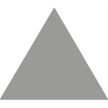 6818V Плитка треугольная Grey Equilateral Triangle 10,4x8,9