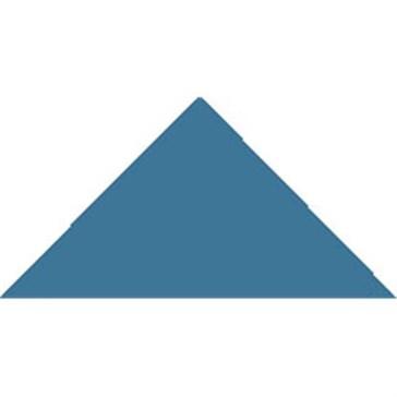 6912V Плитка треугольная Pugin BlueTriangle 5x3,6x3,6