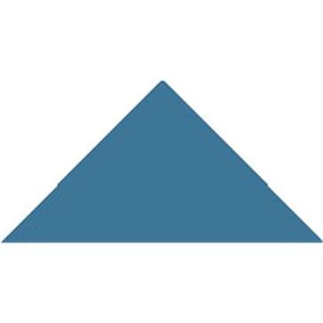 6913V Плитка треугольная Pugin Blue Triangle 7,3x5,2x5,2