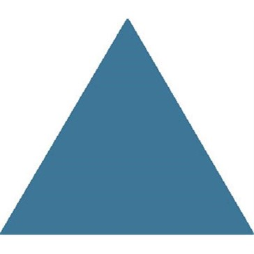 6918V Плитка треугольная Pugin Blue Equilateral Triangle 11,6x10,4x10,4