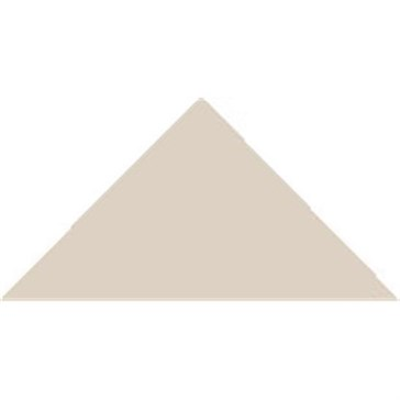 7112V Плитка треугольная Dover WhiteTriangle 5x3,6x3,6