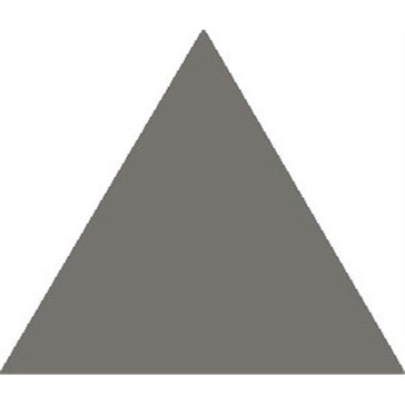 7718V Плитка треугольная Revival Grey Equilateral Triangle 11,6x10,4x10,4