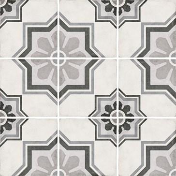 24413 Art Nouveau Capitol Grey 20x20