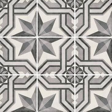 24414 Art Nouveau Cinema Grey 20x20