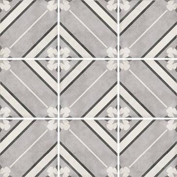 24415 Art Nouveau Inspire Grey 20x20