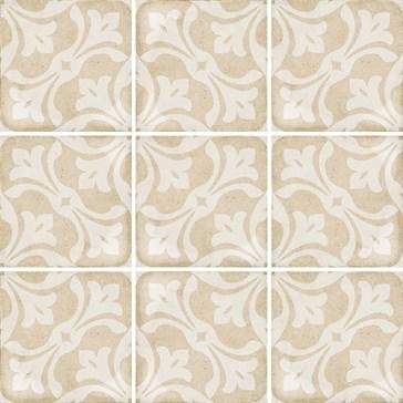 24408 Art Nouveau La Rambla Biscuit 20x20