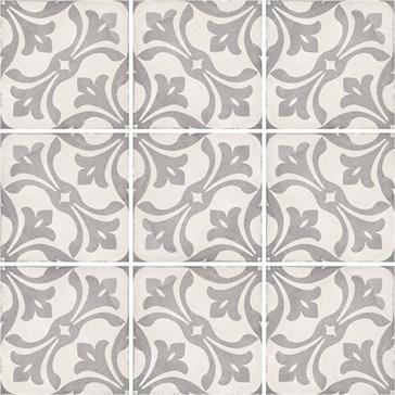 24419 Art Nouveau La Rambla Grey 20x20