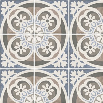 24405 Art Nouveau Music Hall 20x20