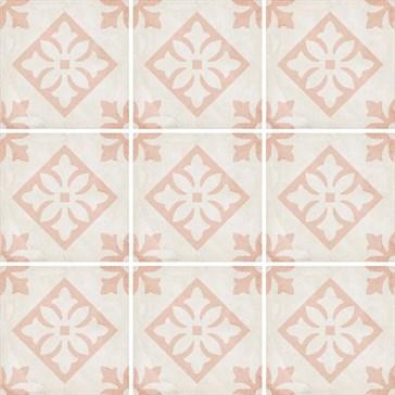 24407 Art Nouveau Padua Pink 20x20