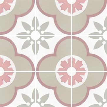 22107 Caprice Deco Flower Pastel 20x20