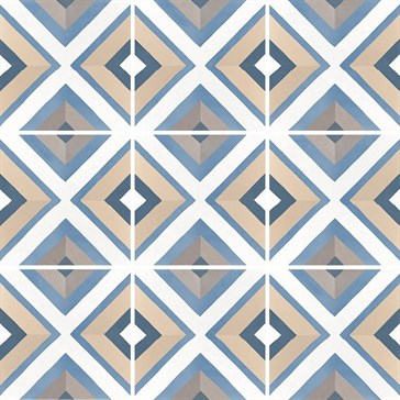 22119 Caprice Deco Square Colours 20x20