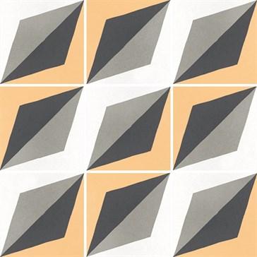 22120 Caprice Deco Wave Colours 20x20