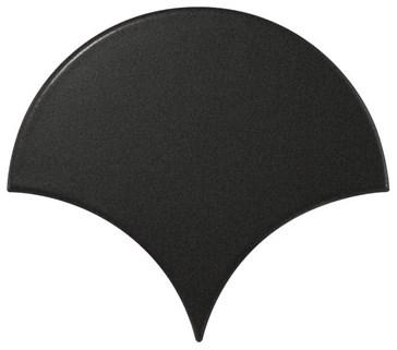 21976 Scale Fan Black Matt 10,6x12