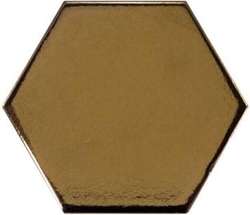 23837 Scale Hexagon Metallic 12,4x10,7