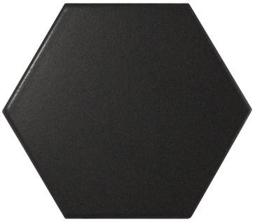 23114 Scale Porcelanico Black Matt 11,6x10,1
